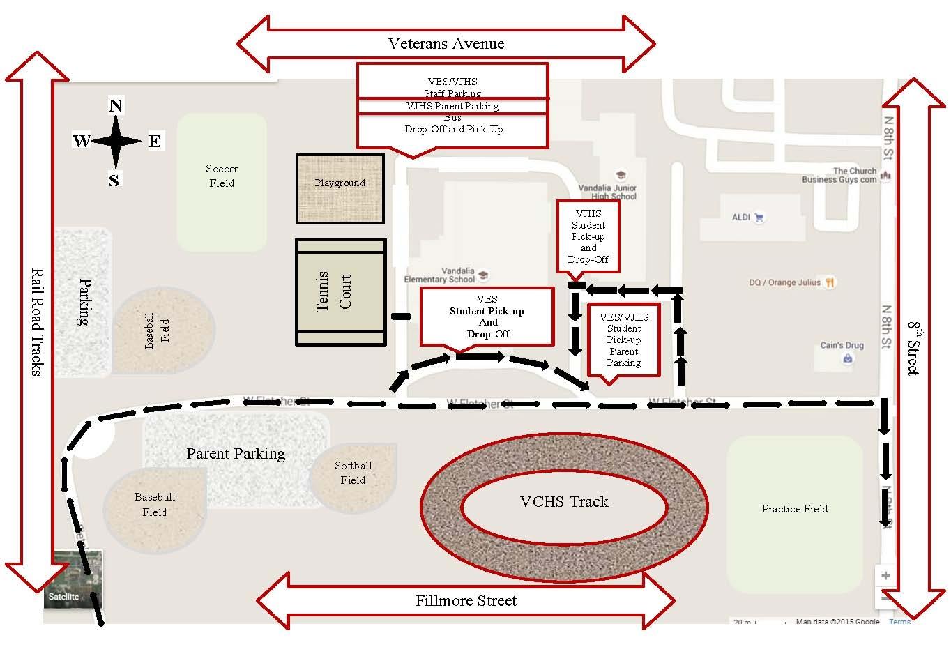 Vandalia Schools holding parents meeting tonight-will address traffic flow plan