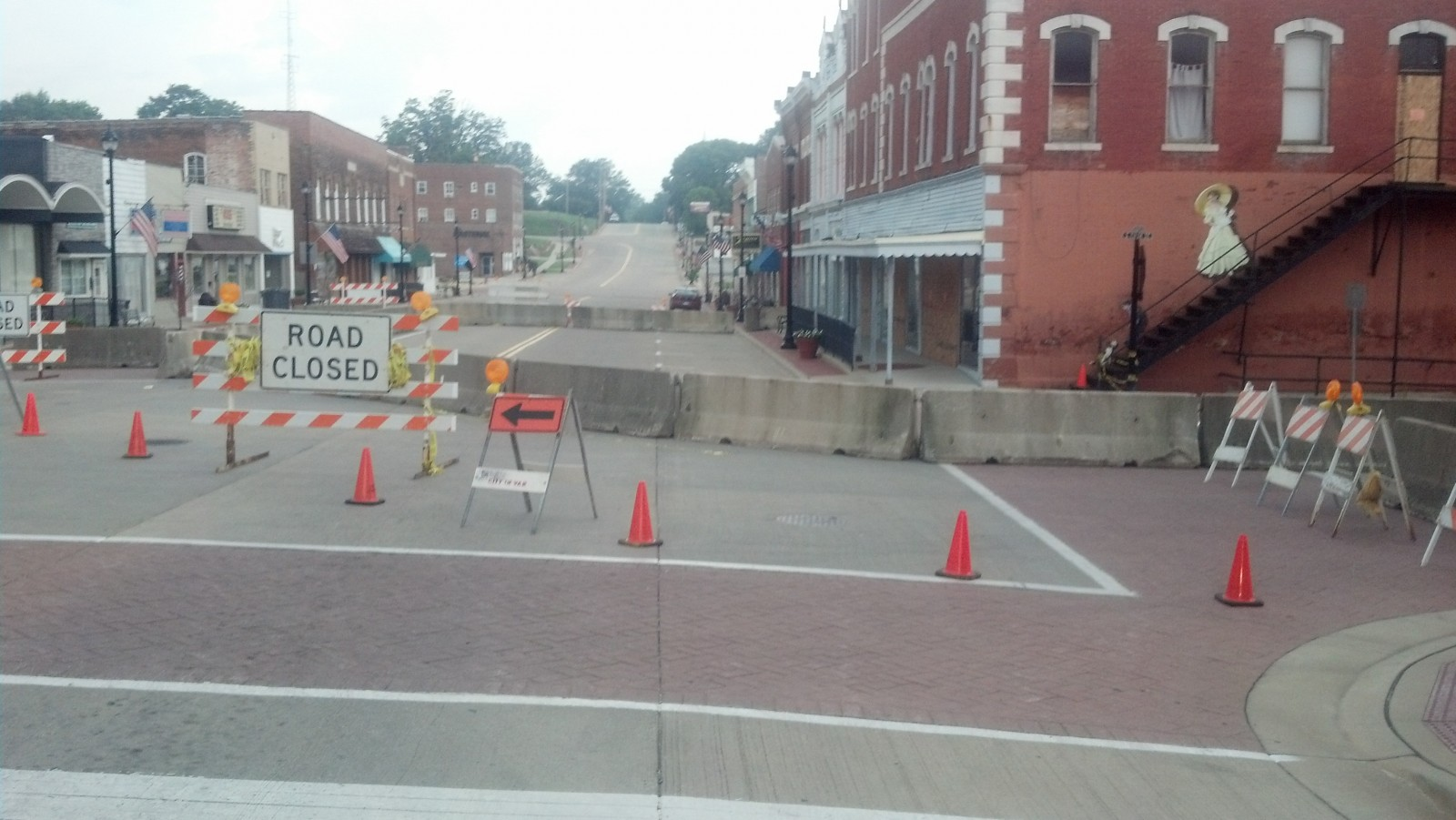 City of Vandalia working toward quick solution for downtown buildings