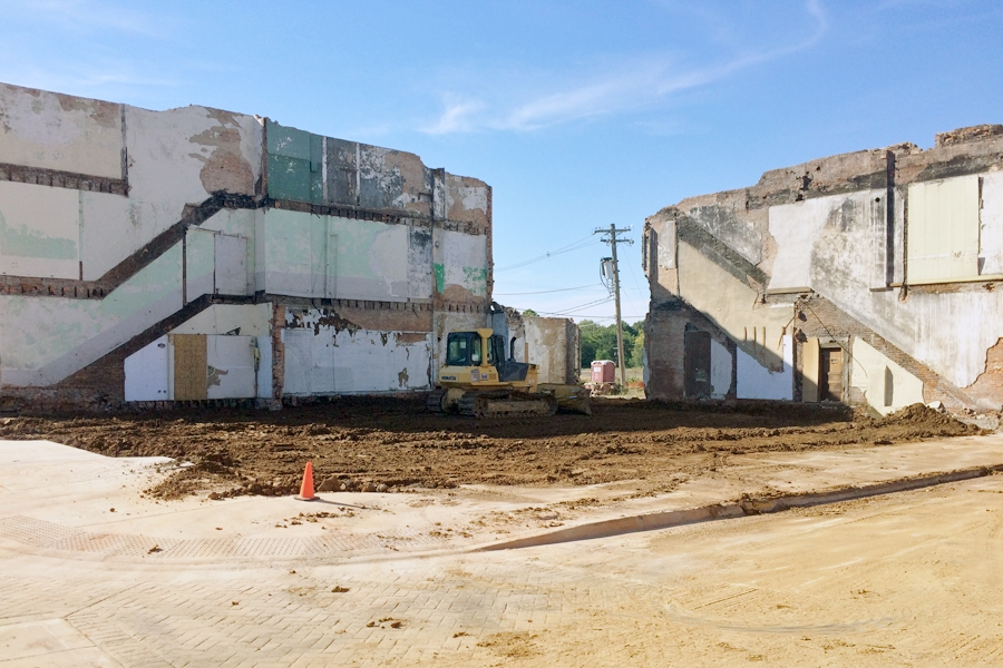 Downtown clean up nearing completion