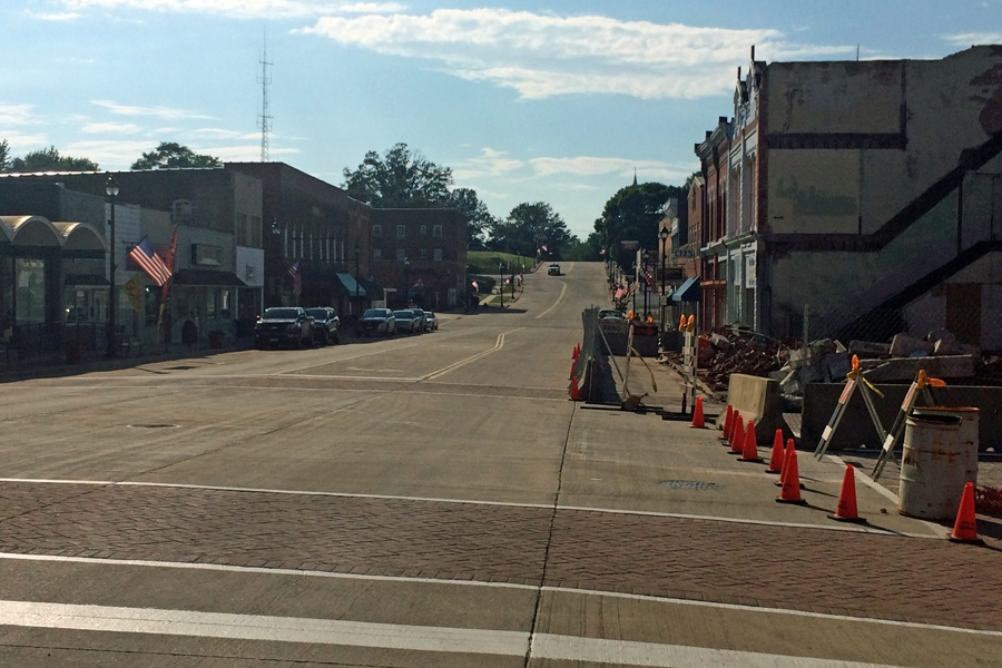 Gallatin Street back open