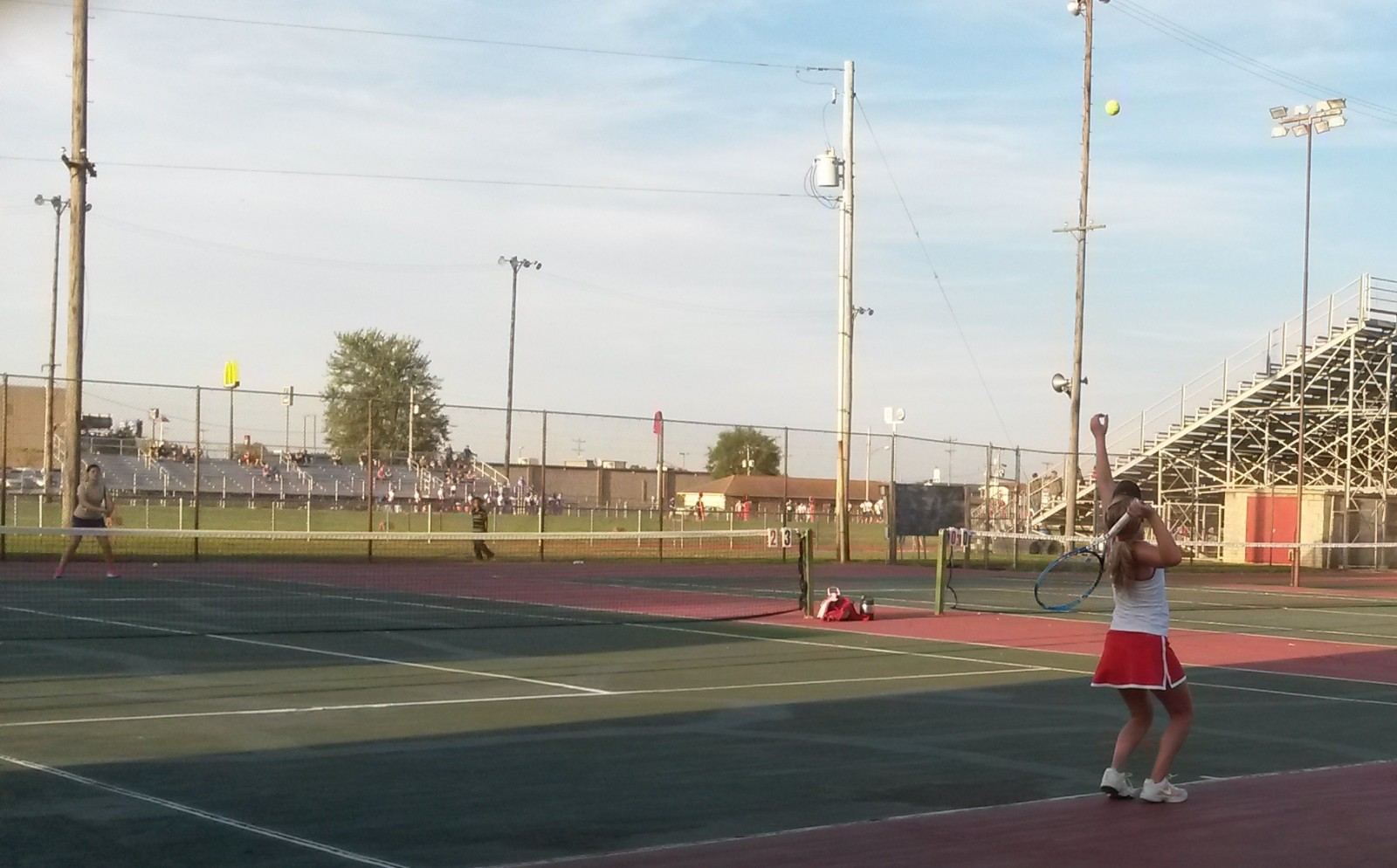 Lady Vandals tennis falls, Hannah Blythe's regular season winning streak ends at 34