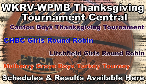 Thanksgiving Tournament Schedules