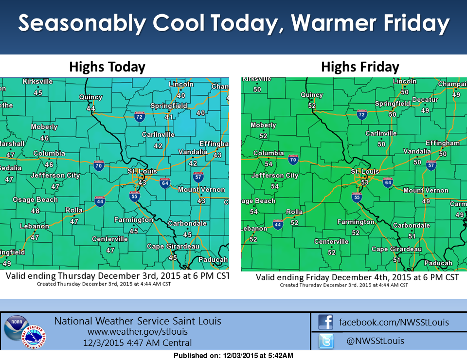 After brief cold snap, warmer days are ahead