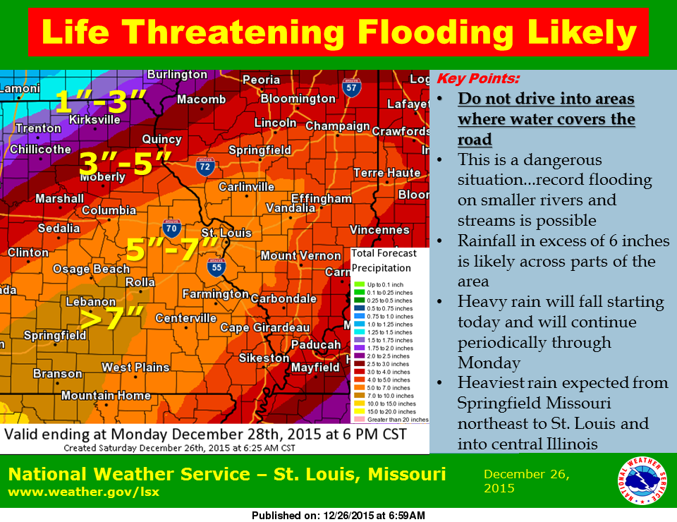 Flash Flood Warning for NW Fayette Co, other areas in region