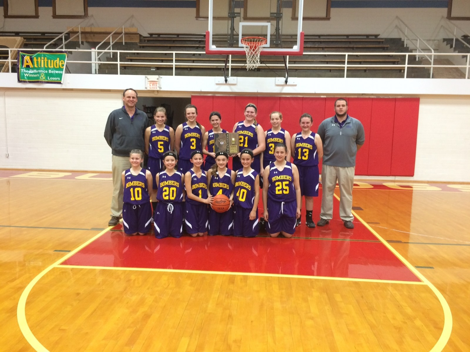 BSE 8th Grade Wins Sectional Championship, Headed to State Tournament