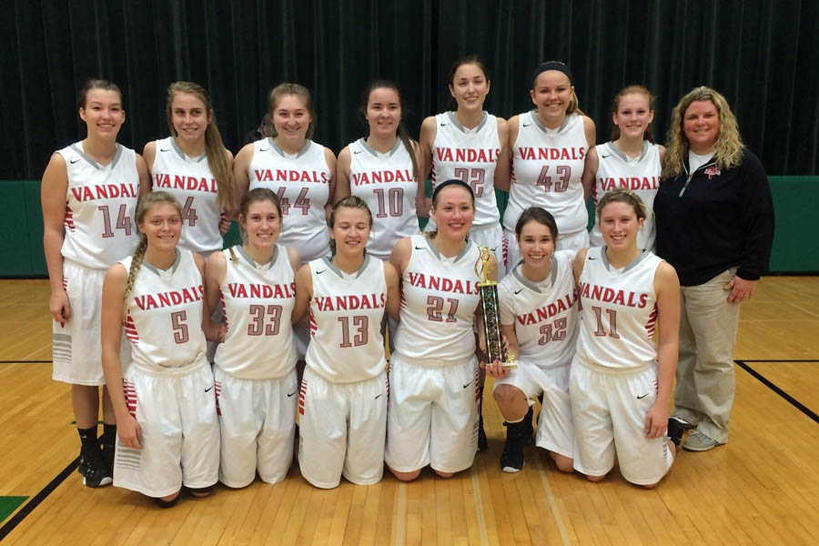 Lady Vandals Beat St. Anthony 50-41 To Take 3rd Place at Mattoon Tournament