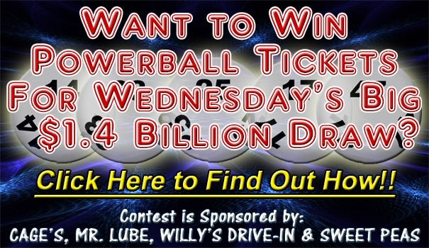 Powerball Ticket Giveaway Contest Info