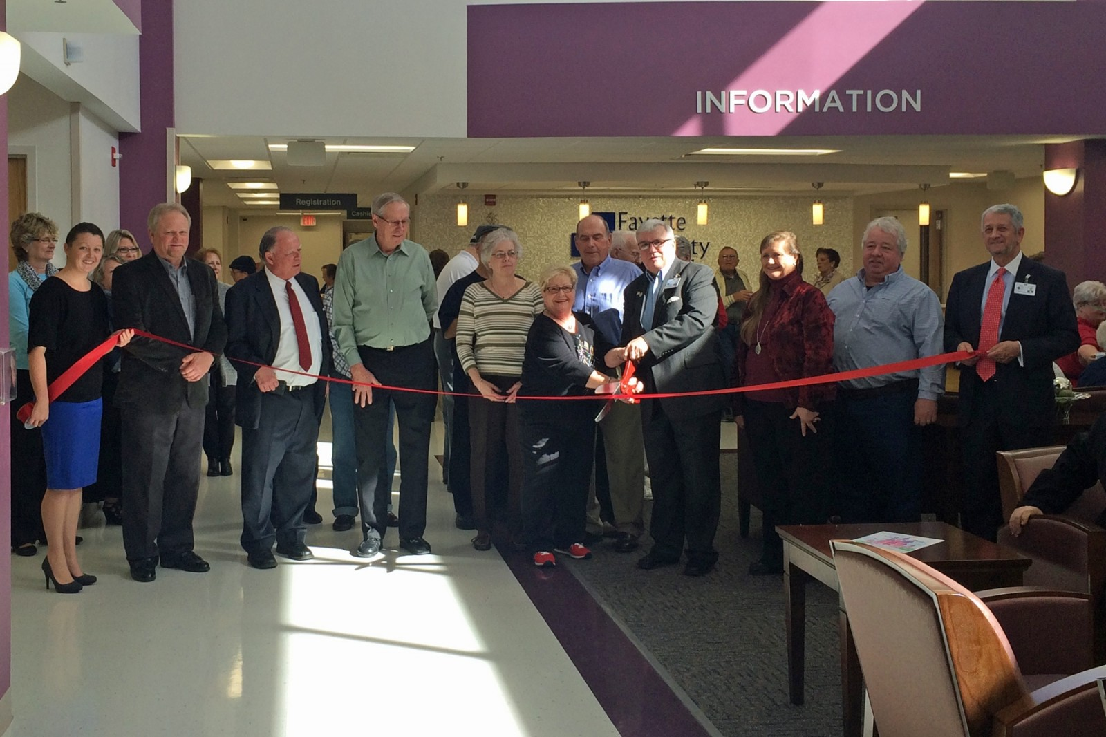 Fayette County Hospital shows off renovations during Sunday Open House