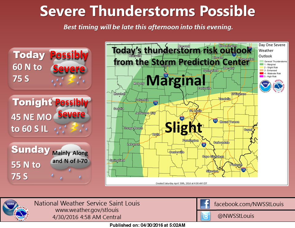 Severe Weather could be on the way again today