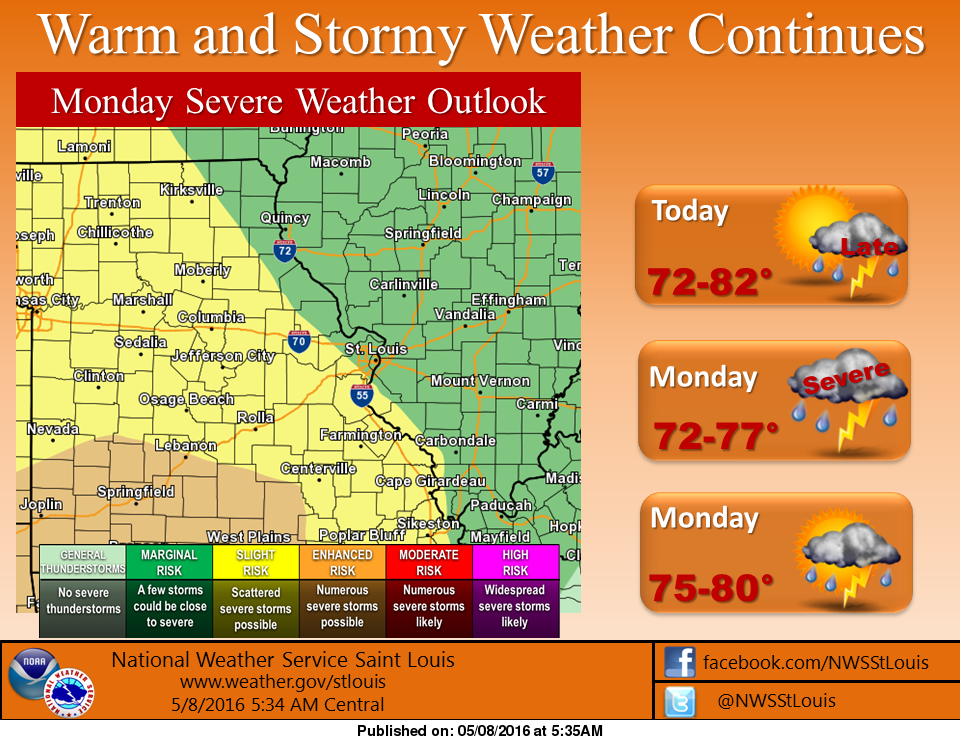 More storms could be on the way later today, Monday