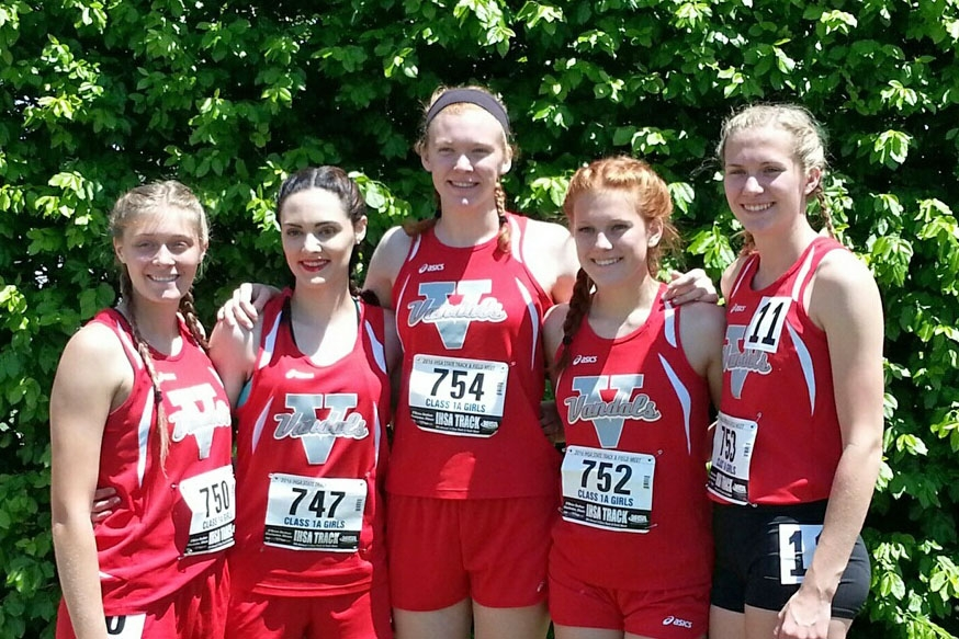Lady Vandals' Miller, Paslay and 4x200Relay Team Into State Finals