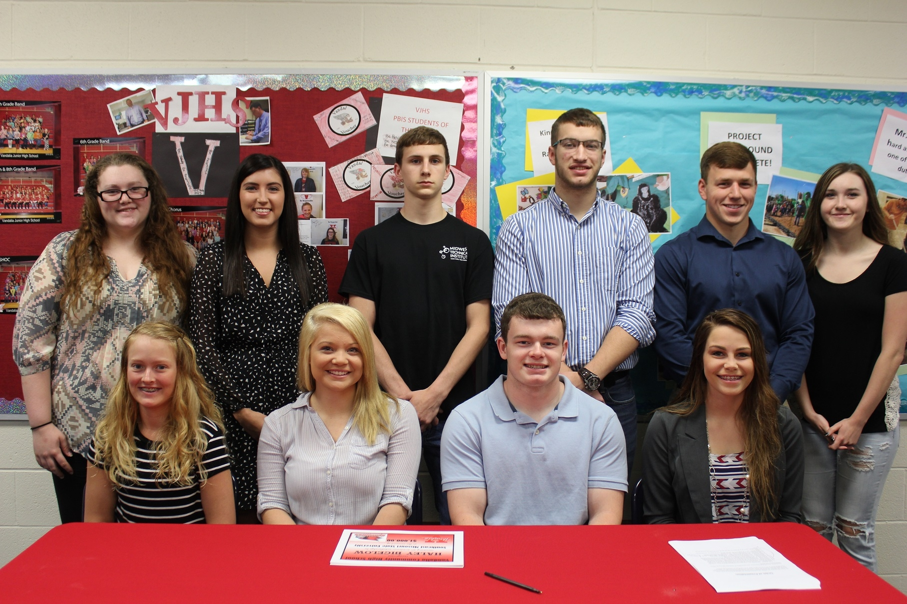 VCHS Academic Signing Day