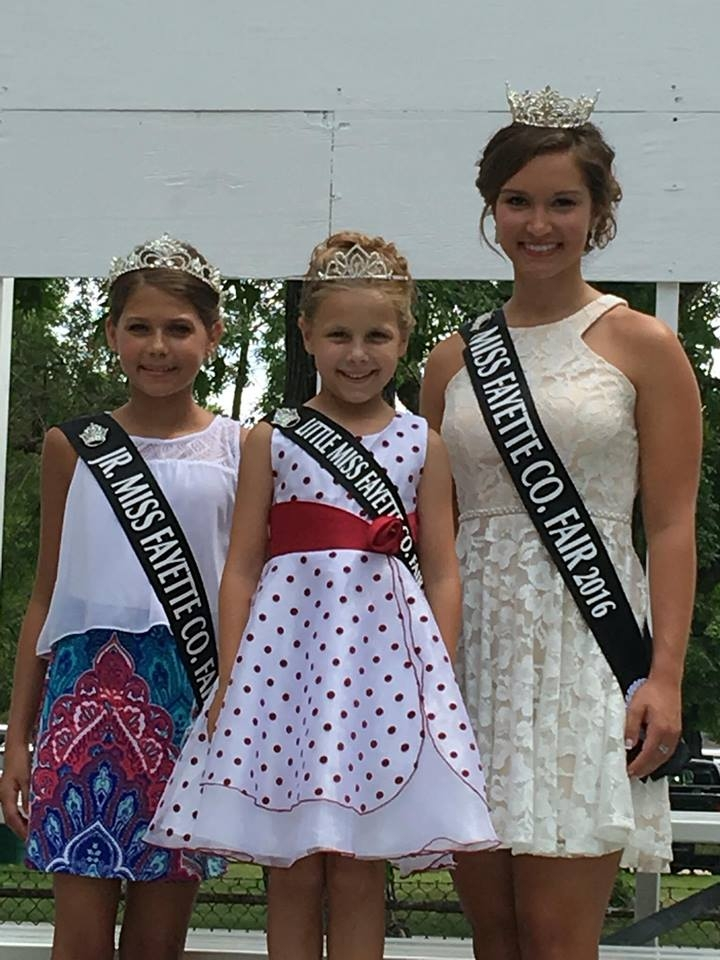 Fayette County's Royalty at Illinois State Fair