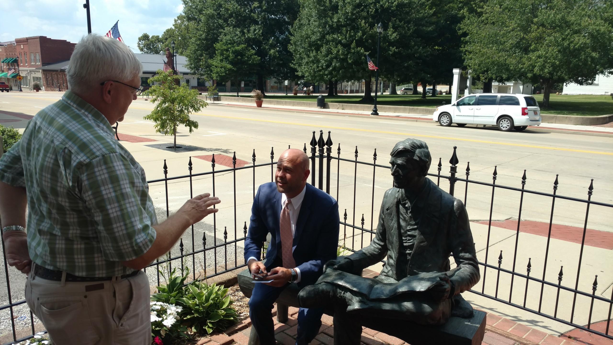 Illinois Tourism Director makes stop in Vandalia