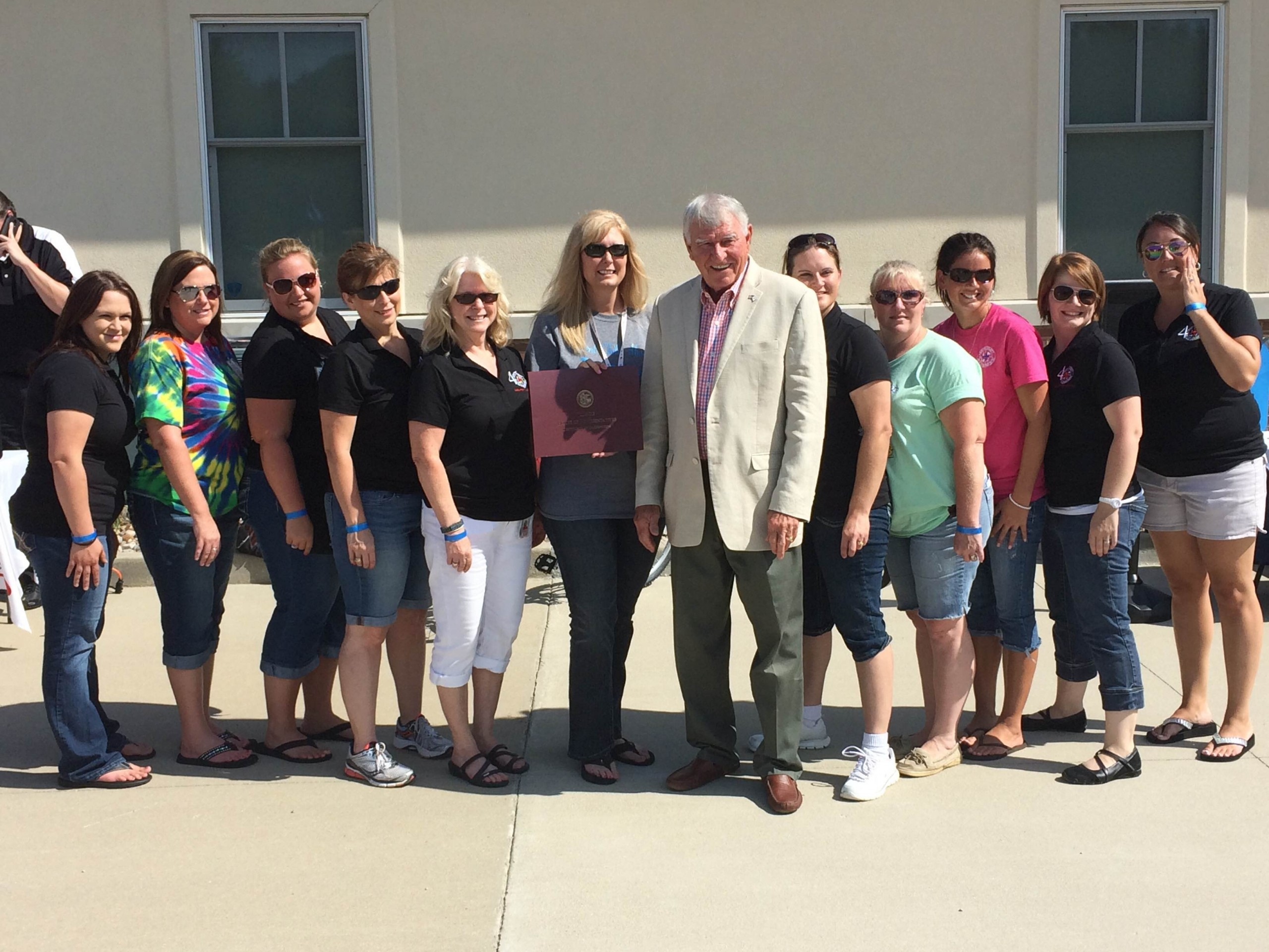 FCHD celebrates 40th anniversary, Rep. Cavaletto on hand for event