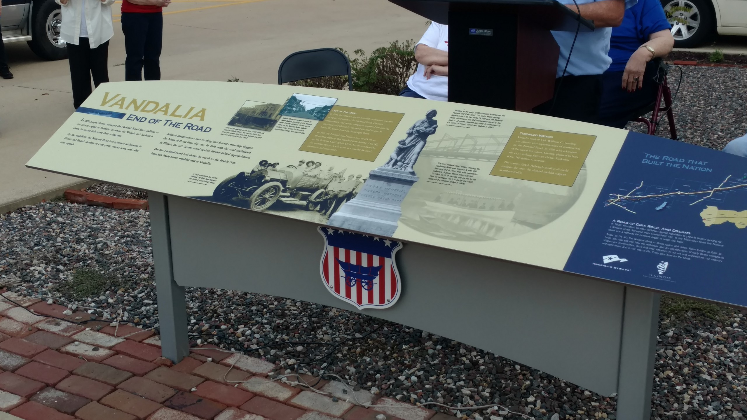 National Road Kiosk dedicated on Saturday in Vandalia