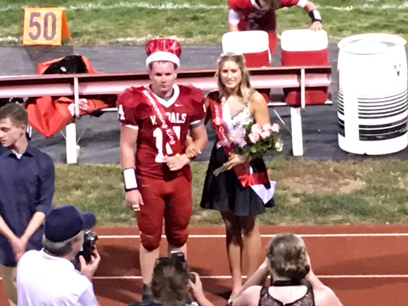 McNary and Marquardt Named VCHS Homecoming Royalty