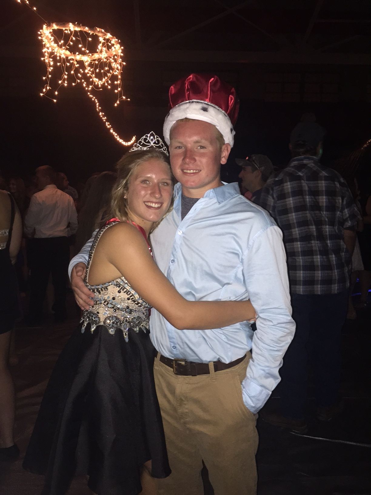 Royalty crowned during VCHS Homecoming football game on Friday night