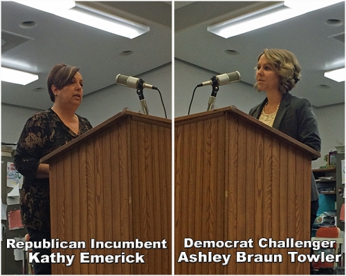 More from Candidates Forum--second broadcast of event coming up Tuesday at noon
