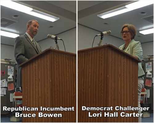 More from Candidates Forum, broadcast of Candidates Forum today at noon on WPMB