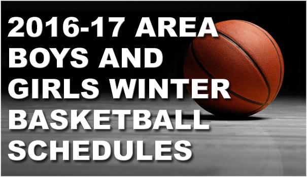 2016-17 Area Boys & Girls Winter Basketball Schedules