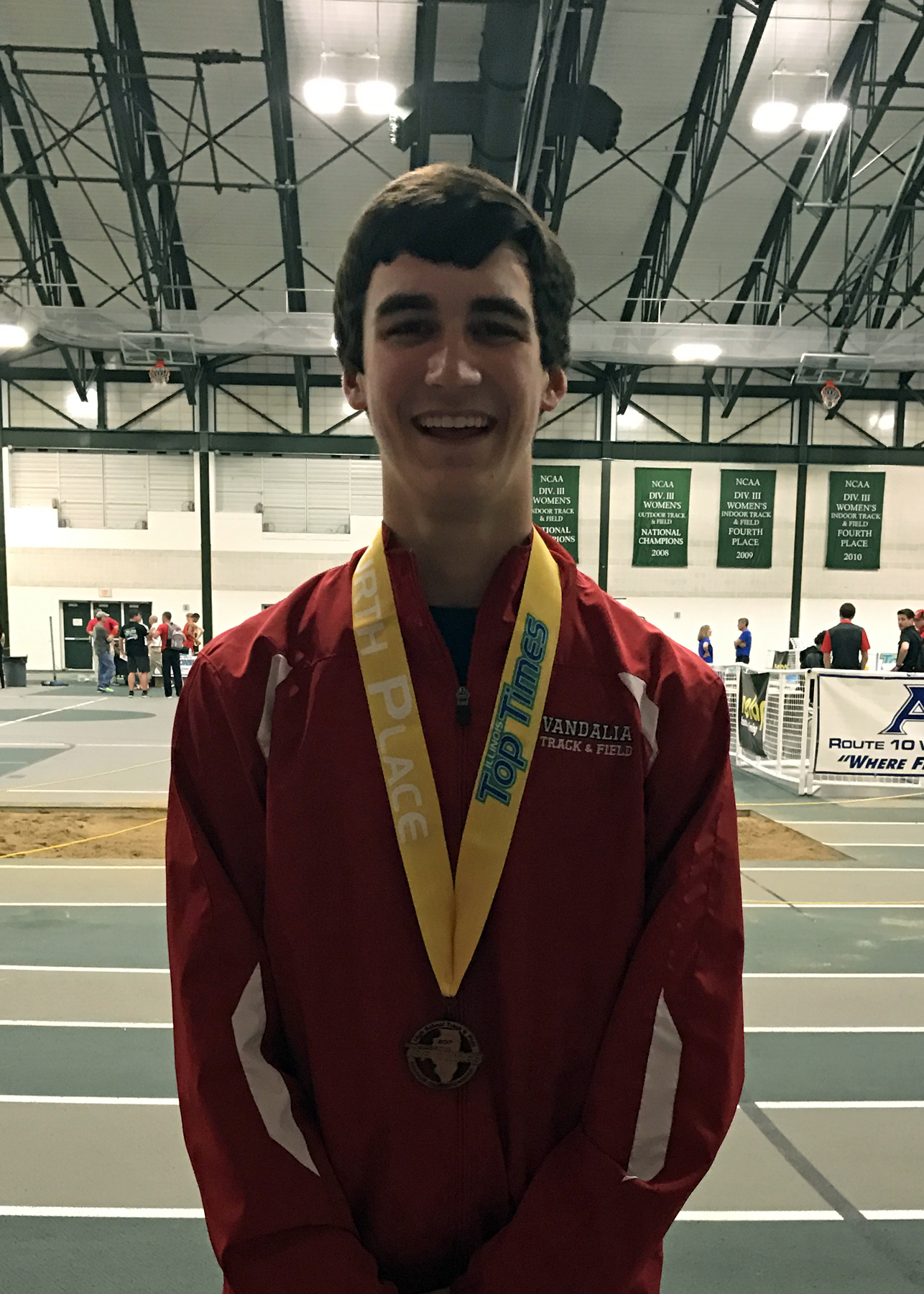 VCHS Boys Results from Illinois Top Times Meet
