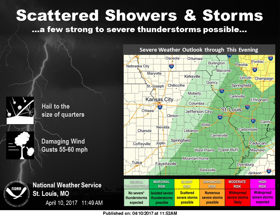 Severe storms still possible this evening
