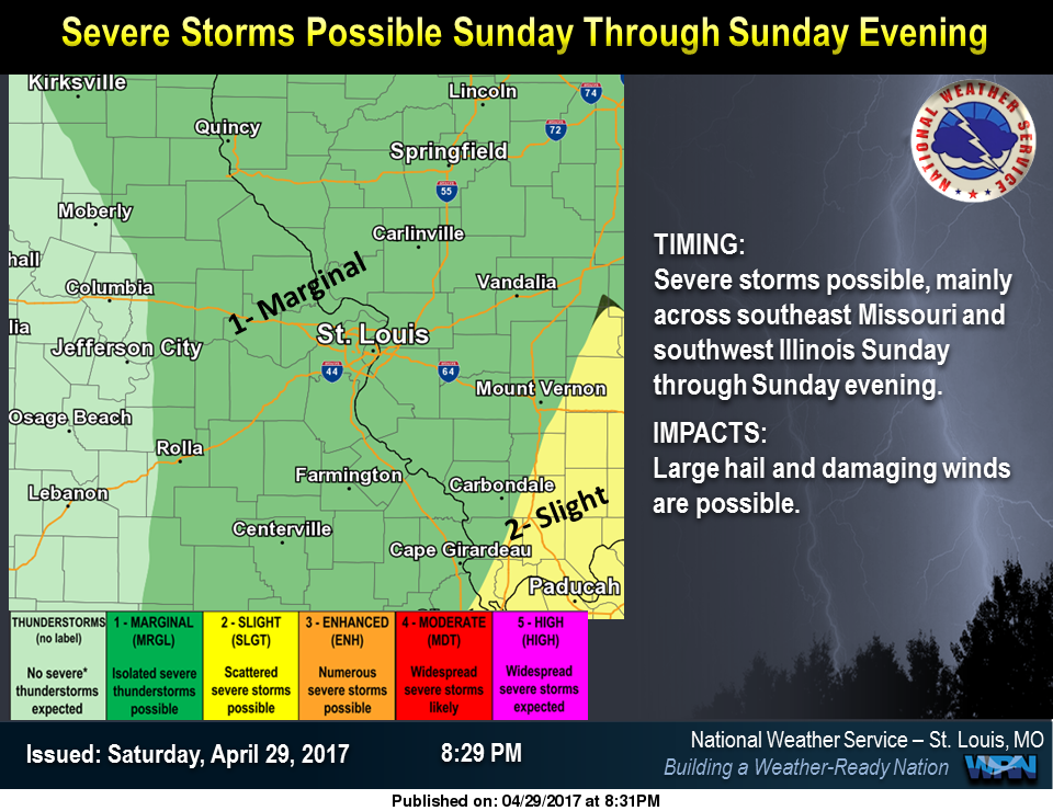 More Strong to Severe Storms are possible today, tonight