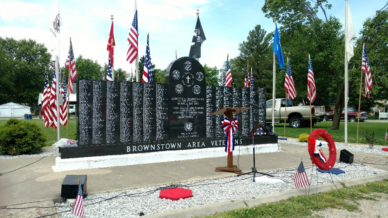 Memorial Day Programs Today in Fayette County