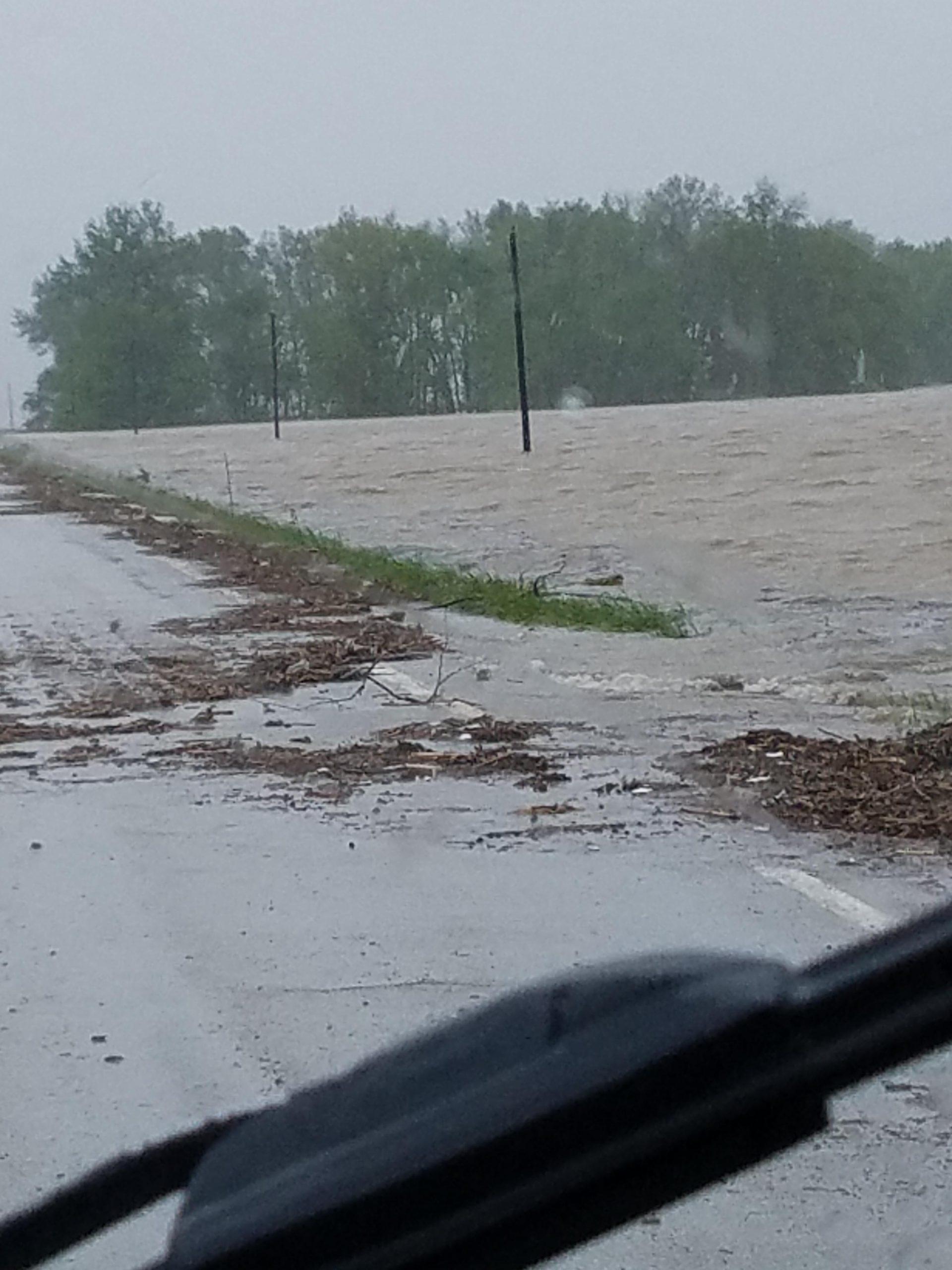 Flood Warning on the Kaskaskia River in Vandalia--updated forecast levels