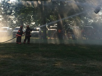 St. Peter FD wins 1st ever Fayette County Water Fights