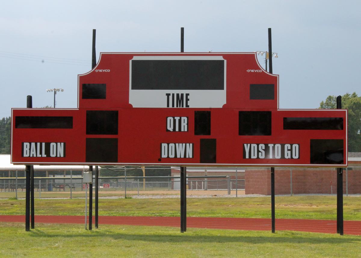 New Scoreboard in place at Mark Greer Field
