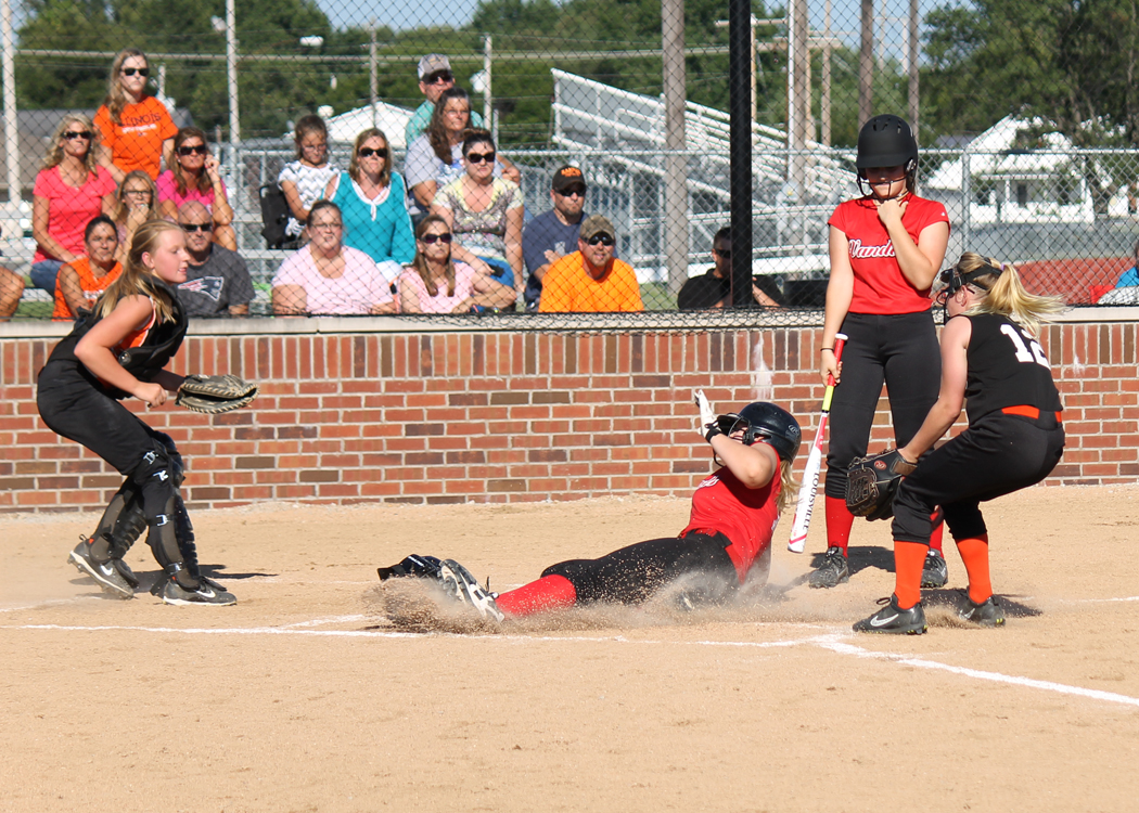 VJHS gets win in first ever Jr High Softball game