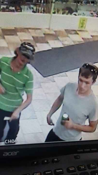 Vandalia PD looking for public's help identifying two individuals