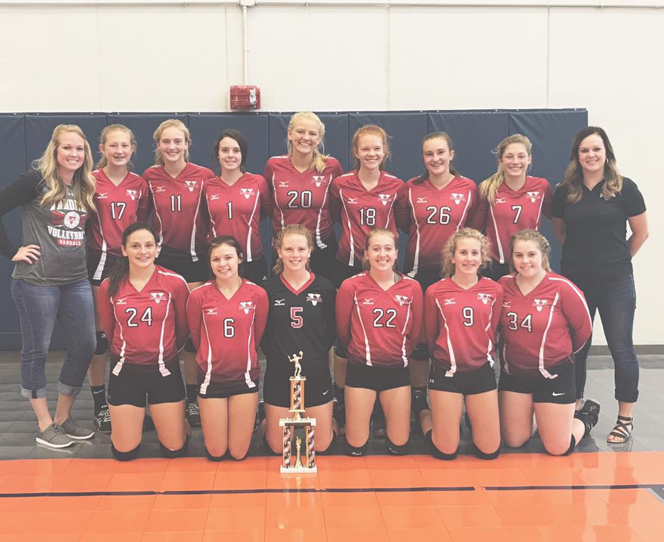 Lady Vandals Fresh/Soph Volleyball Team Wins Pana Tournament
