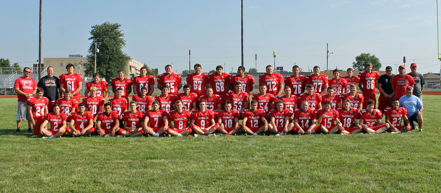 Vandals football heads on road to play the Piasa Birds tonight