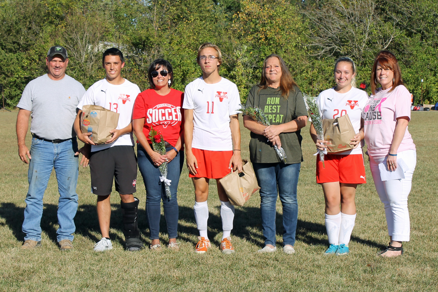 Vandals Soccer falls on Senior Day