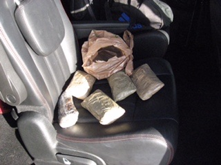 ISP seized 6 pounds of Heroin on I-70 on Sunday, individual in Fayette County Jail