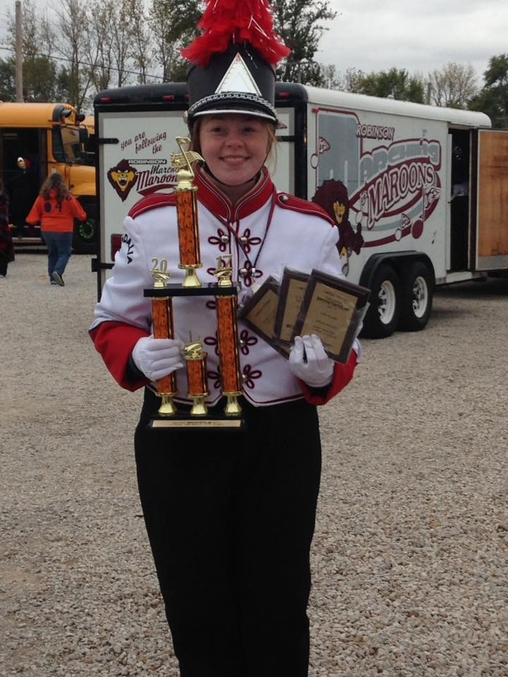 VCHS Marching Band has Big Day at Oblong Spooktacular Field Competition