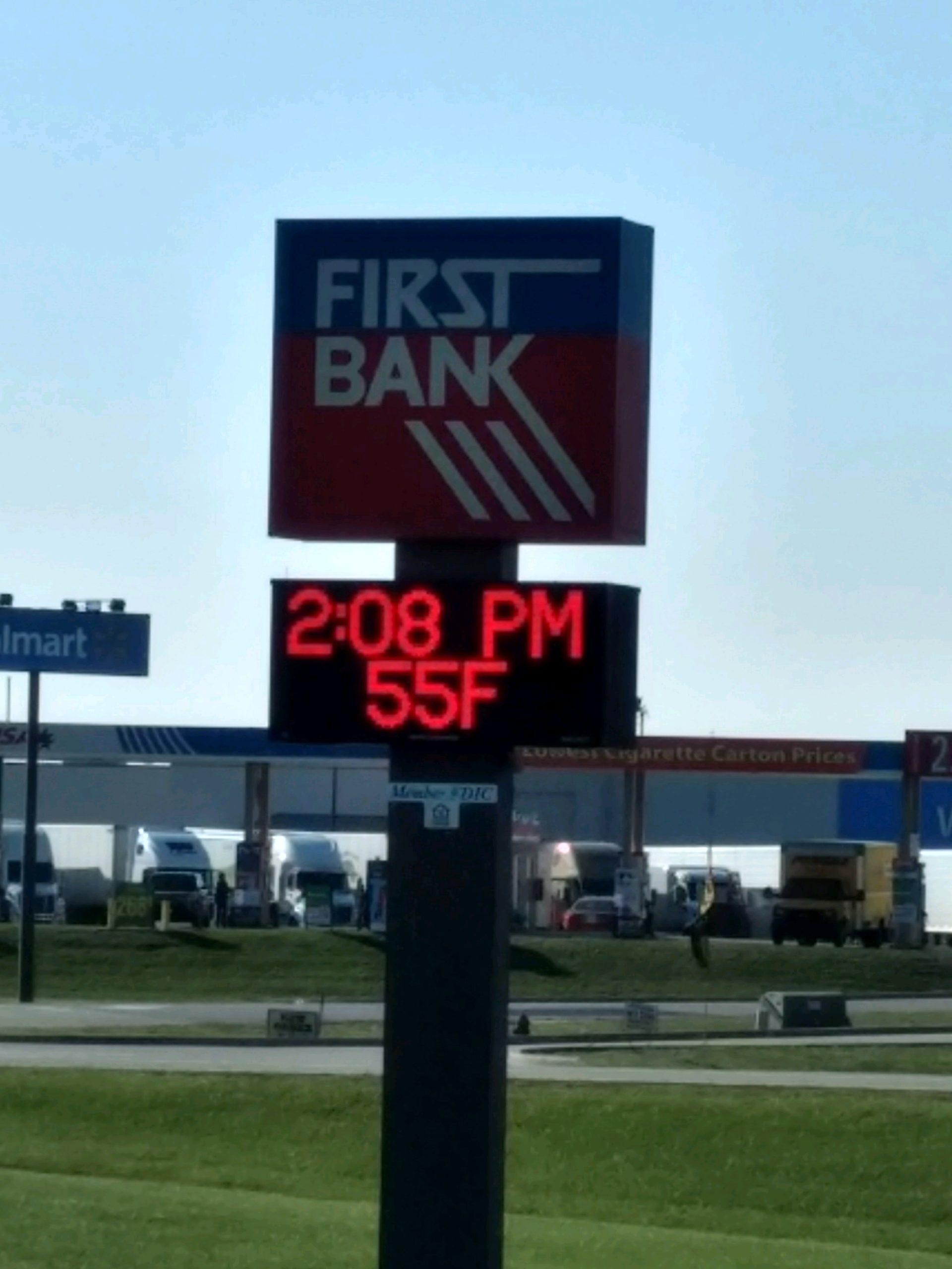 First Bank in Vandalia has been sold