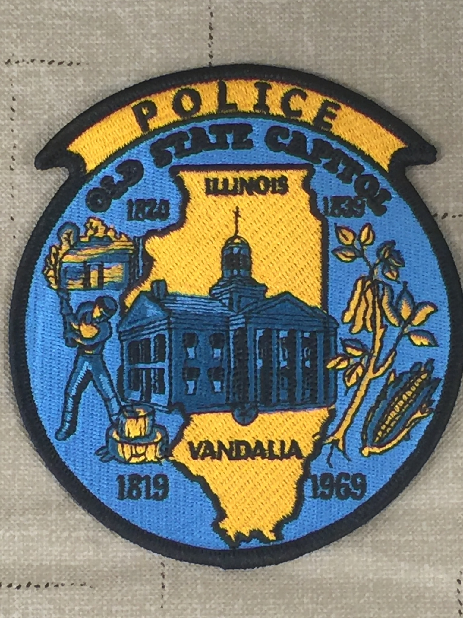 City of Vandalia Police Car Damaged by Wrong Way Driver