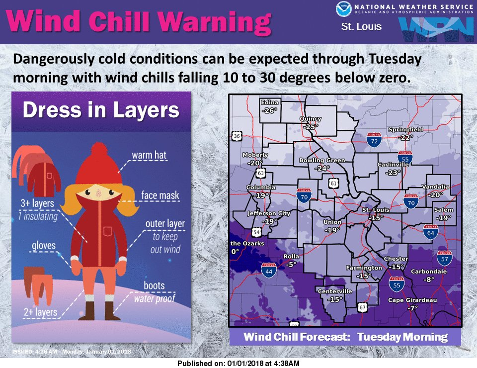 Extreme Cold, Dangerous Wind Chills continue today