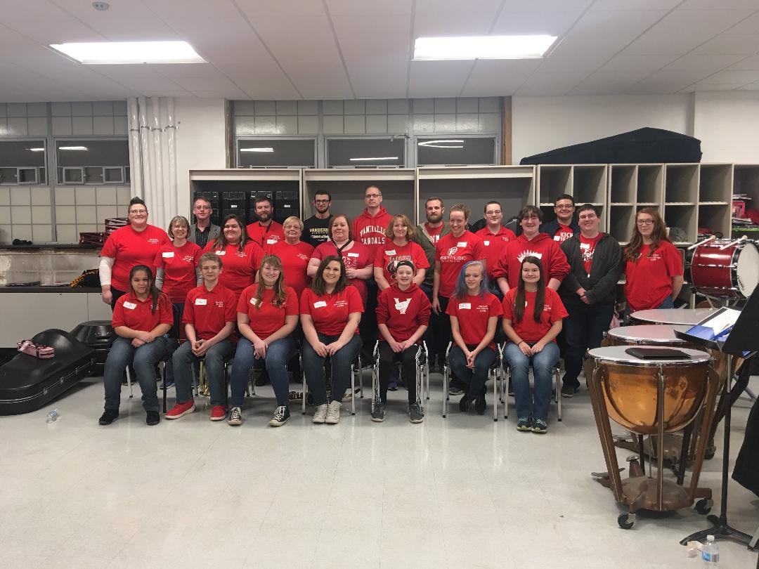 VCHS Alumni and Friends Band Night a Success