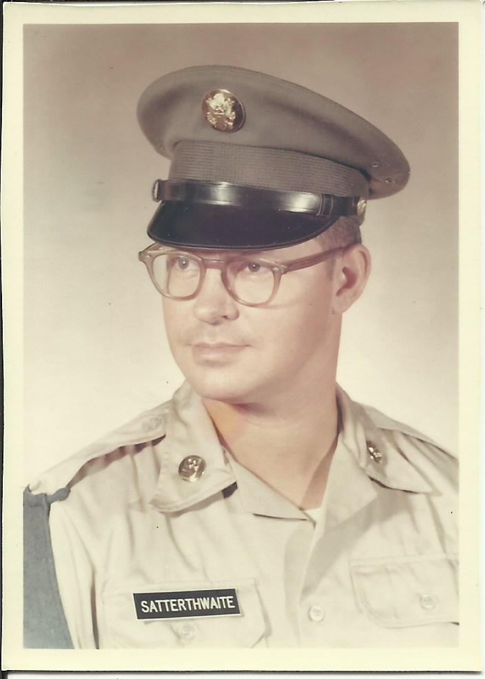 Retired SFC Donald Leslie Satterthwaite, Jr.