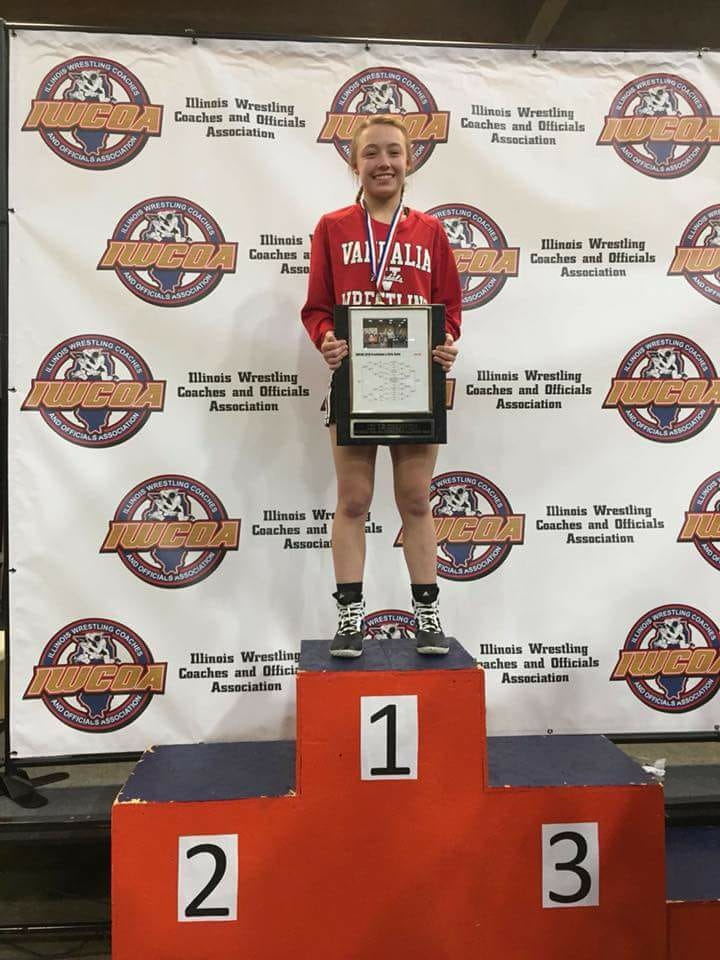 Morgan Dothager Repeats as IWCOA Girls 101lb State Champion