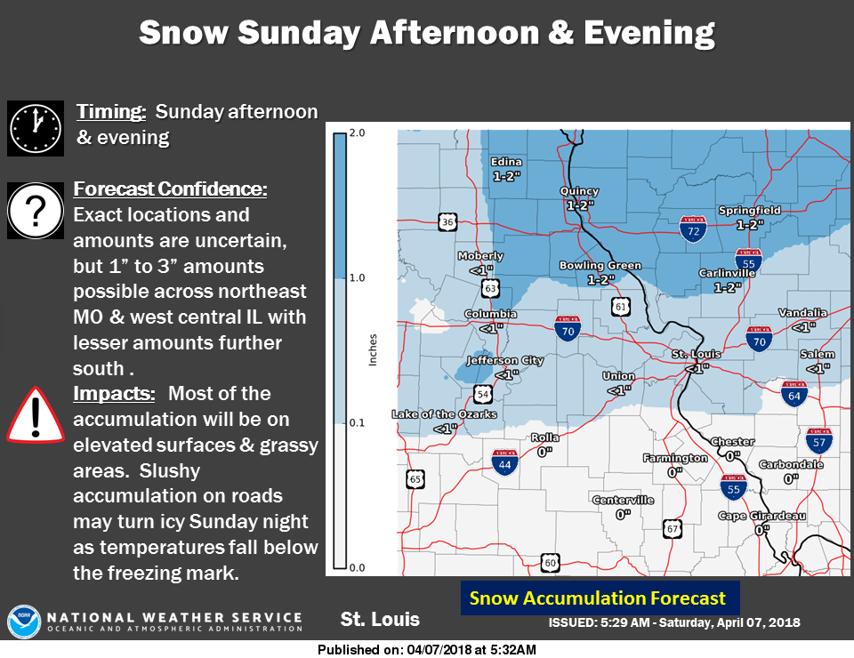 Cold Weekend Ahead---Snow in the forecast for Sunday night