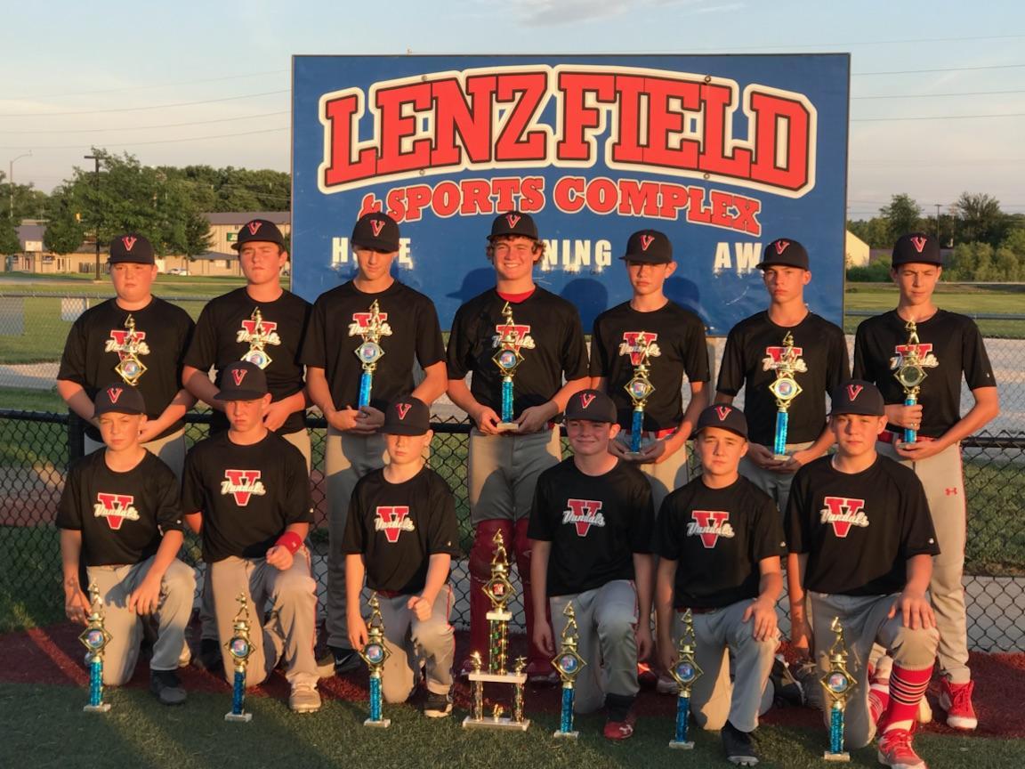 Vandalia 13U baseball team wins Midwest National Boys Tournament