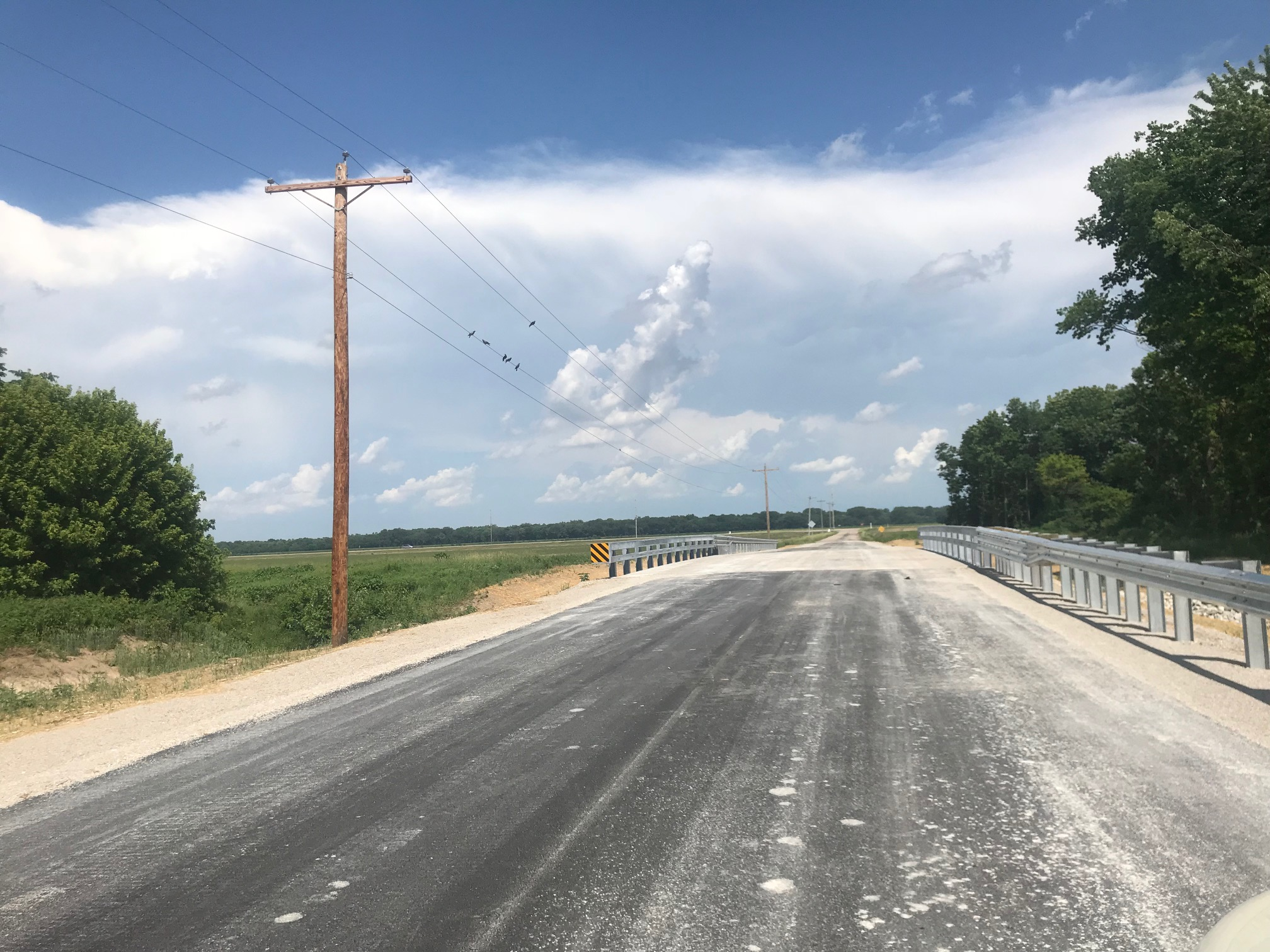 Thrill Hill Bridge is now back open