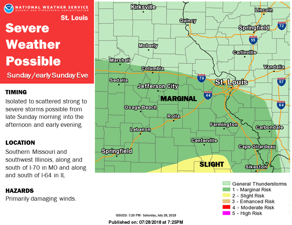 Storms today & tonight--Severe Weather is also possible