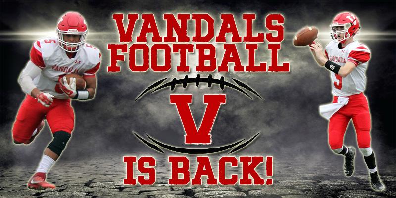 2018 Vandalia High School Football Schedules